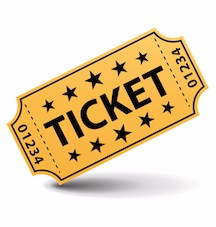 ticket clipart 2
